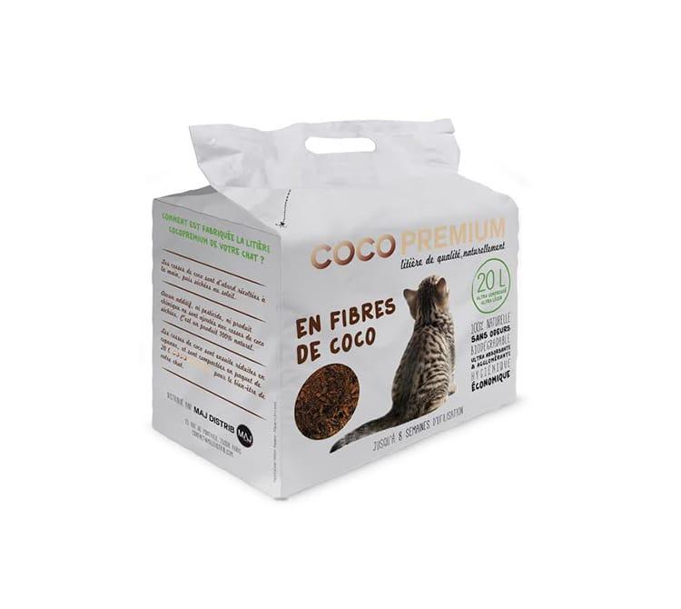 litière pour chat : un nouveau produit 100% végétal - trucs et